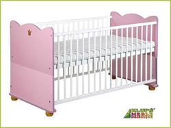 Attēls  Bērnu gultiņa KSIĘŻNICZKA (princese)