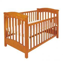 Attēls  Bērnu gultiņa RAFAL I ar nolaižamu sānu