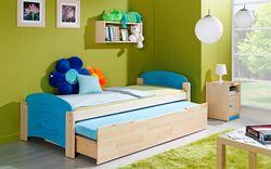 Attēls  Divvietīga gulta JAS 2 (12 krāsas)