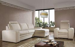 Attēls  Stūra dīvāns ar krēslu LINEA