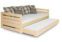 Attēls  Divvietīga gulta RODOS