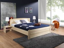 Attēls  Koka gulta BAZYL 200