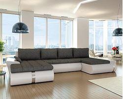 Attēls U veida stūra dīvāni