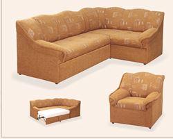 Attēls Stūra dīvāns ar krēslu