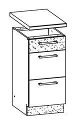 Attēls  Virtuves skapītis MODENA MD14/D45S3 (Trawa morska)