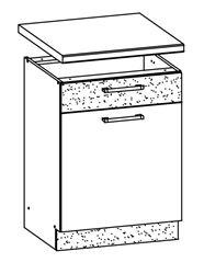 Attēls  Virtuves skapītis MODENA MD15/D50S1 (Trawa morska)