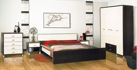 Attēls  Guļamistabas komplekts DOMINO 1