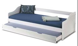 Attēls  Divvietīga bērnu gulta LEONIE