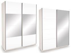 Attēls  Skapis ECO PLUS 150 ZL BT15 ar spoguli, pulēts
