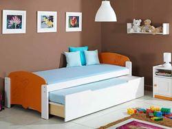 Attēls  Divvietīga koka gulta MALGOSIA 2 (12 krāsas)