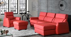 Attēls  Stūra dīvāns IVET 2 ar krēslu