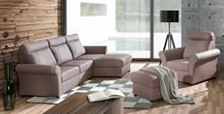 Attēls  Stūra dīvāns FIGARO 2 ar krēslu