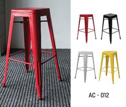 Attēls  Bāra krēsls AC-012 (4 krāsas)