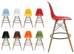 Attēls  Bāra krēsls AC-016WH-2 (8 krāsas)