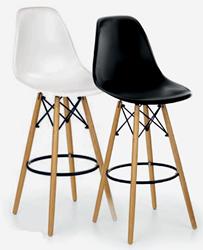 Attēls  Bāra krēsls H-51 (2 krāsas)