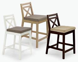Attēls  Zems bāra krēsls BORYS LOW (3 krāsas)