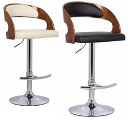 Attēls  Bāra krēsls BCR-402 (2 krāsas)