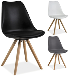 Attēls  Krēsls ERIC (3 krāsas)