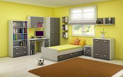 Attēls  Bērnu istabas komplekts KITTY 2