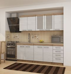 Attēls  Virtuves iekārta MILO 2-5 (Craft bialy)