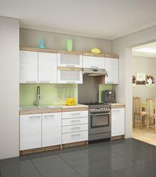 Attēls  Virtuves iekārta MILO 3-5 (Craft bialy)