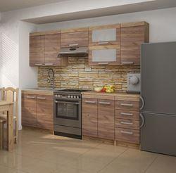 Attēls  Virtuves iekārta MILO 1-6 (Craft tobaco)