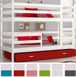 Attēls  Divstāvu gulta JACEK (6 krāsas) Balta