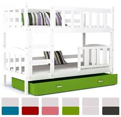 Attēls  Divstāvu gulta DEFI (6 krāsas) Balta