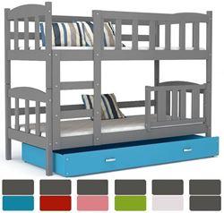 Attēls  Divstāvu gulta DEFI (6 krāsas) Pelēka