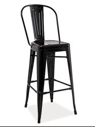 Attēls  Bāra krēsls LOFT H-1 (Matēts)