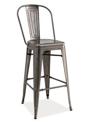 Attēls  Bāra krēsls LOFT H-1 (Slīpēts)