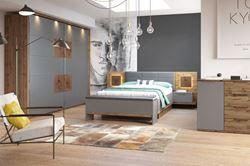 Attēls Guļamistabas komplekts LIVORNO (2 krāsas)