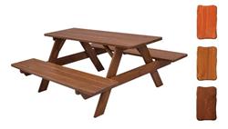 Attēls  Dārza galds ar soliem MO 260 (3 krāsas) (lakots)