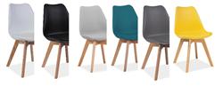 Attēls  Krēsls KRIS BUK (6 krāsas)